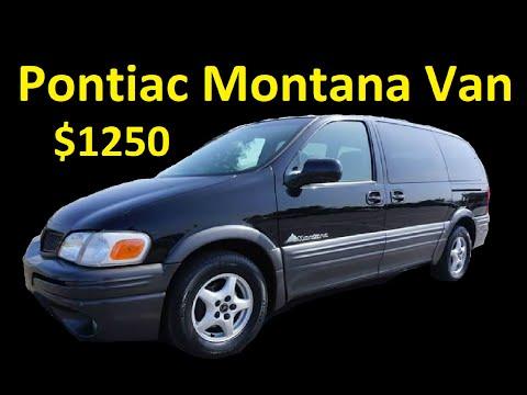 MINIVAN FOR SALE $1250 ~ PONTIAC MONTANA 101K ~ DAILY VLOG 2020-0109