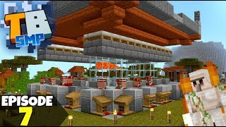 Truly Bedrock Episode 7! IRON FARM And Mending Villager! Minecraft Bedrock Survival Let's Play!