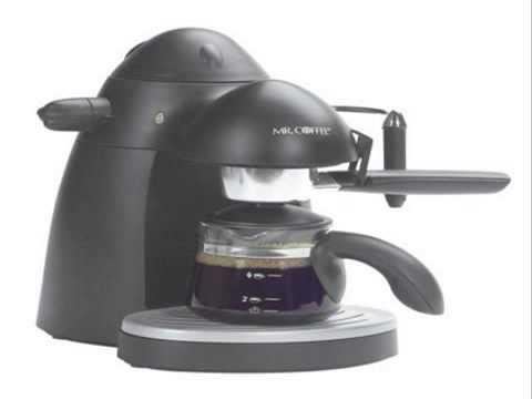 Mr Coffee ECM20 23 4 Cups Espresso Machine Black