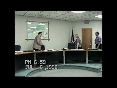 Rouses Point Village Board Meeting  7-6-98