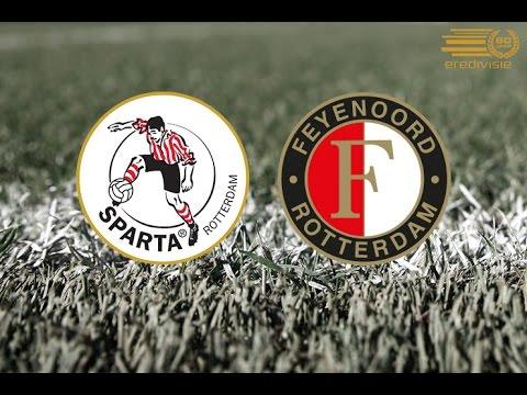 Sparta Rotterdam Versus Feyenoord Youtube