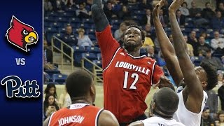 Louisville vs. Pittsburgh Men's Basketball Highlights (2016-17)