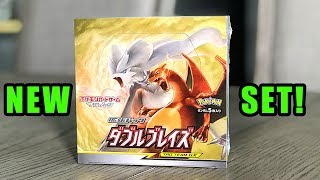 *NEW POKEMON CARDS PREVIEW!* Opening DOUBLE BLAZE Booster Box!