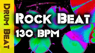 Straight Hard Rock Drum Beat 130 BPM - JimDooley.net