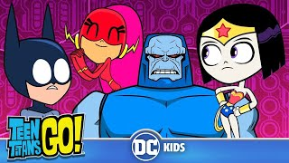 Teen Titans Go! En Español | ¡La Joven Liga de la Justicia rescata a la Liga de la Justicia!