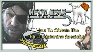 Metal Gear Solid V | How To Get The ElectroSpinning Specialist [Mission 9]