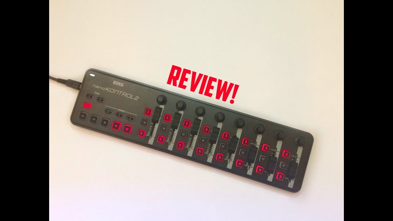 the best budget usb mixer korg nanokontrol 2 review youtube. Black Bedroom Furniture Sets. Home Design Ideas