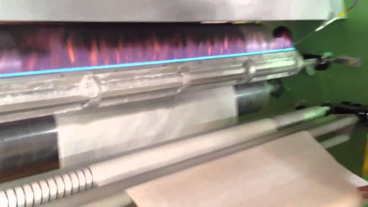 Voltex Foam Lamination Machine Flame Type Youtube