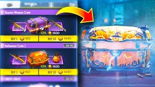 OPENING *NEW* SPECIAL HALLOWEEN CHESTS!! (NEW WEAPONS) | Call of Duty COD: Mobile