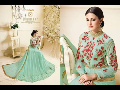 Modern New Arrivals Fashionable Women Long Anarkali suits dress design