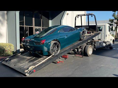 Ferrari GT3 458 Reassembly!