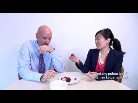 Americans Try Rambutan