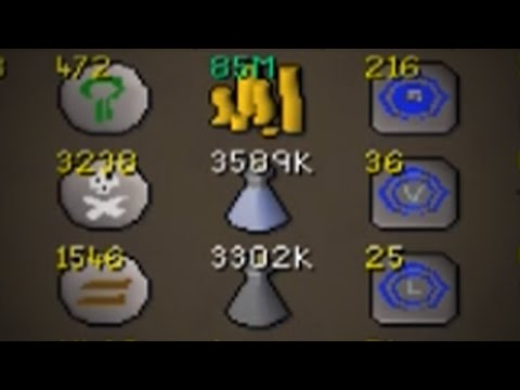 New and Improved Placeholder Bank | OSRS Bank Video 2016