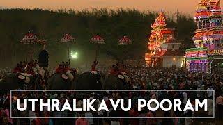 Glimpses of Uthralikavu Pooram
