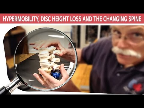 Hypermobility, Disc Height Loss and the Changing Spine - Professor Stuart McGill and Ed Cambridge