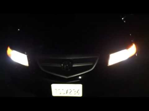 05 acura tl 2 lights and horn youtube rh youtube com Acura TSX Air Conditioning Acura TSX Manual Transmission