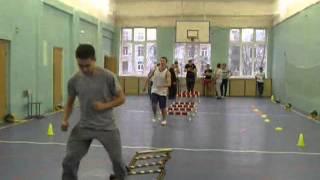 Открытый урок преподавателя физкультуры Кузнецова В.А.