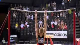 Men's High Bar Final European Gymnastics Championships 2012