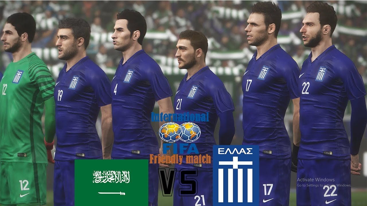 finest selection b50a3 d94fe PES 2018   Saudi Arabia vs Greece   NEW KITS! World Cup 2018    International Friendies   Gameplay PC