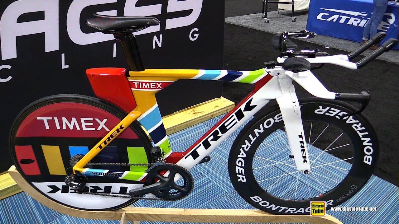 2017 Trek Speed Concept Timex Trithlon Bike Walkaround