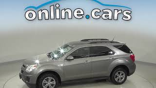 C10636RO Used 2012 Chevrolet Equinox Gray SUV Test Drive, Review, For Sale