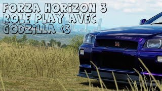 Forza Horizon 3 ROLEPLAY - Godzilla is purple ?!