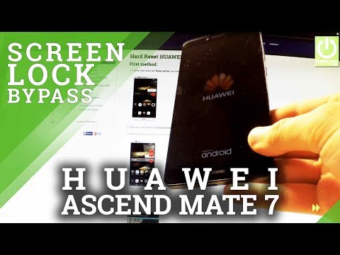 HUAWEI Ascend Mate 7 HARD RESET / REMOVE PASSWORD