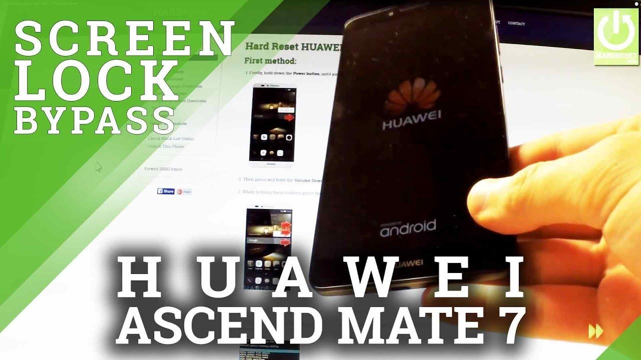 Hard Reset HUAWEI Ascend Mate 7 - HardReset info