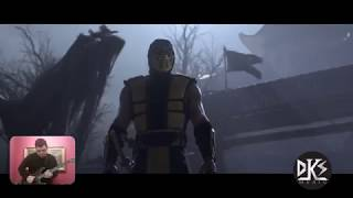 Mortal Kombat 11 trailer with metal music