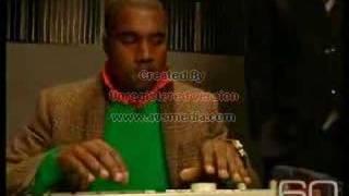 Kanye Making Beat