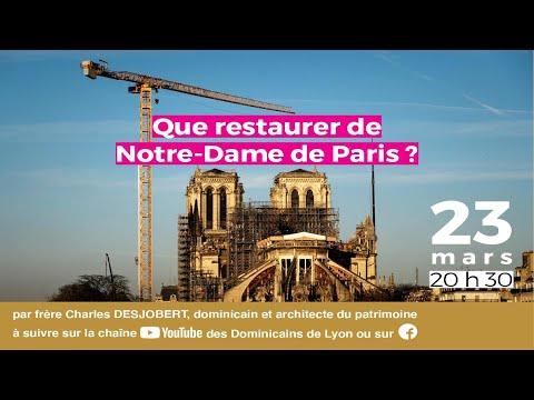 Que restaurer de Notre-Dame de Paris
