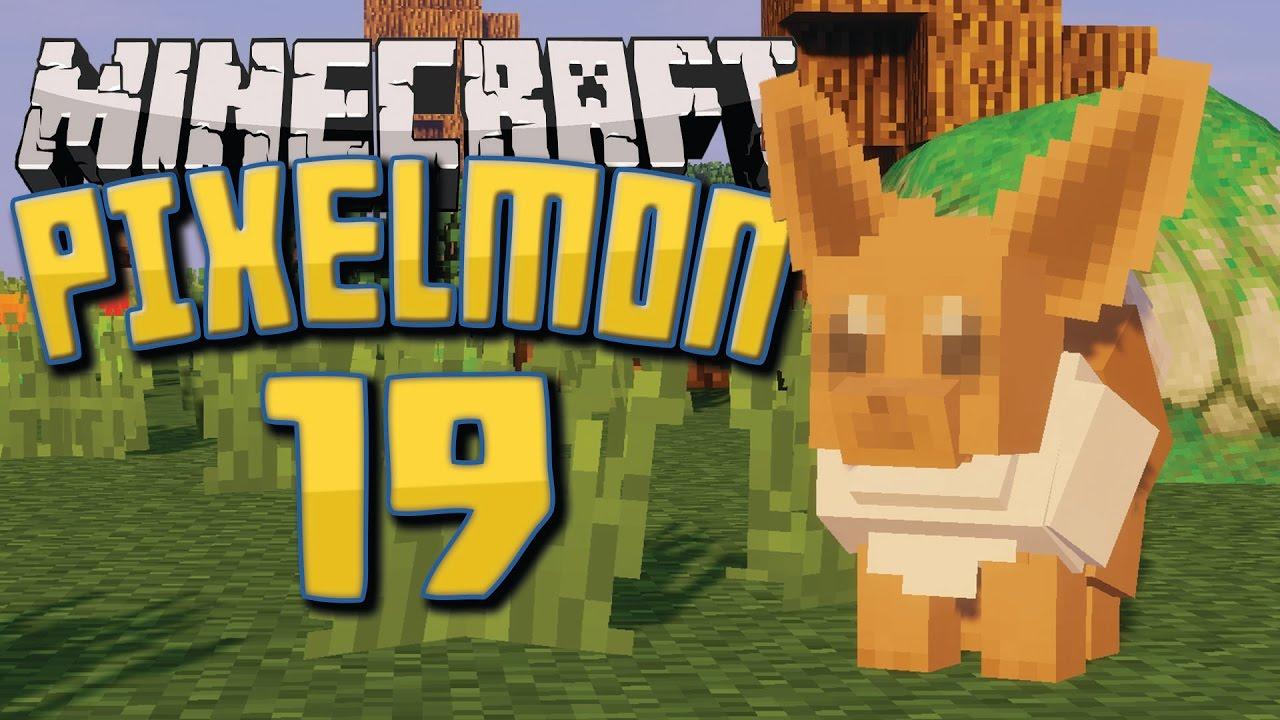 HUNTING FOR EEVEES! | Minecraft: Pixelmon Public Server | Episode 19