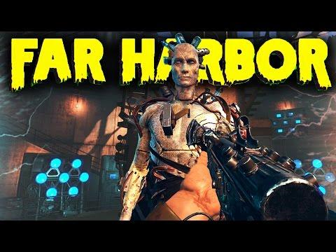 Fallout 4 DLC Far Harbor DLC Gameplay - Exploration,Rare Weapons & More (Fallout 4 Far Harbor DLC)