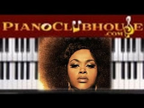 """♫ How to play """"THE WAY"""" by Jill Scott (piano tutorial lesson)"""