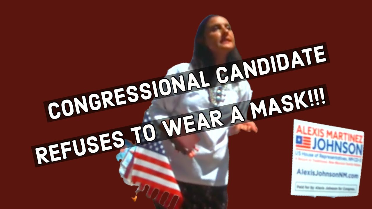 Full lapel video of U.S. Congressional Candidate getting Cited for not wearing a face covering!!!