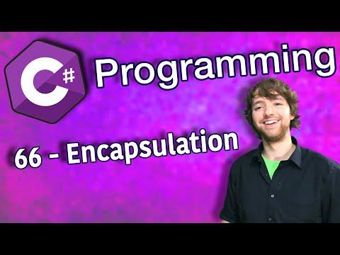 C# Programming Tutorial 66 - Encapsulation thumbnail