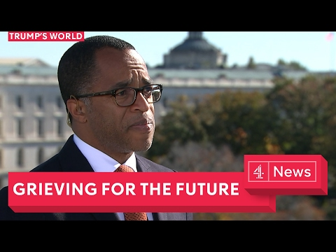 Journalist Jonathan Capehart breaks down over Trump's America