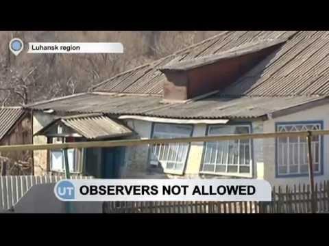 Luhansk Militants Control Ukraine-Russia Border: OSCE observers turned back
