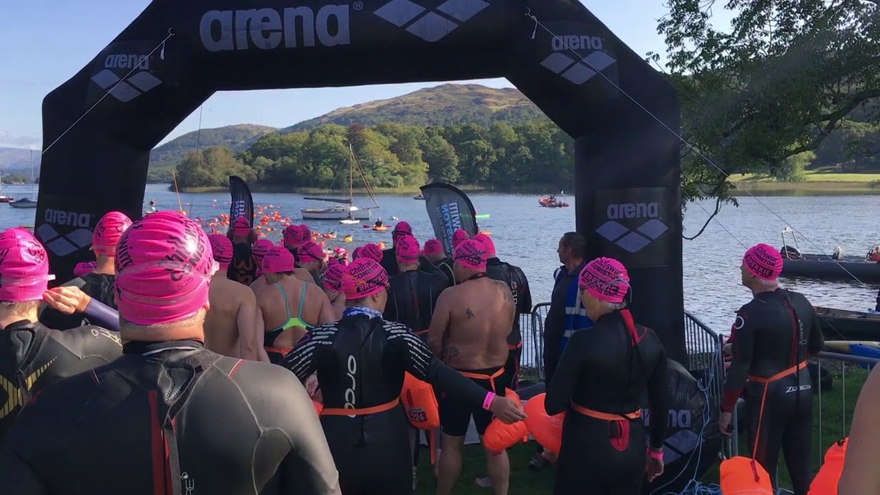 Chillswim Coniston 5 25 mile end to end