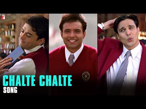 Chalte Chalte  Song | Mohabbatein | Uday Chopra | Jugal Hansraj | Jimmy Shergill