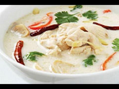 อาหารไทย (7/20) : ต้มข่าไก่