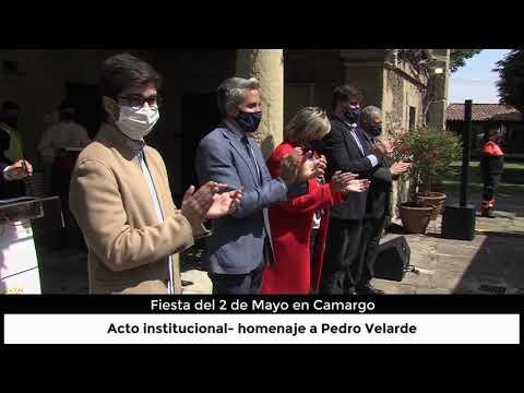 Fiesta del 2 de Mayo en Camargo: Acto homenaje a Pedro Velarde