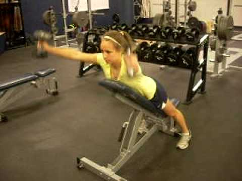 Incline Bench Y Raise Youtube