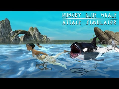 Hungry Blue Whale Attack Simulator | Android Gameplay