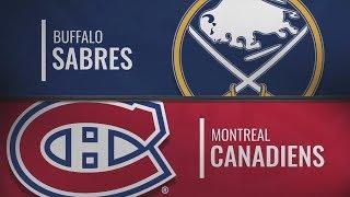 Монреаль vs Баффало | Buffalo Sabres at Montreal Canadiens | NHL HIGHLIGHTS | НХЛ ОБЗОР МАТЧА