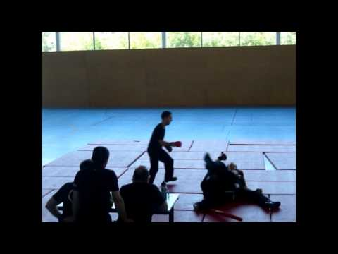 passage de grade gant blanc savate baton defense PARTIE 2