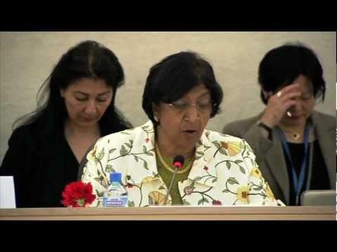 WorldLeadersTV: INTERNET FREEDOMS: UN HUMAN RIGHTS HEAD (OHCHR)