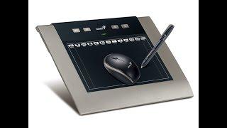 Обзор графических планшетов Genius MousePen i608 \ i608x \ M508WX(