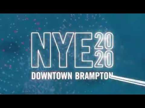 Celebrate NYE 2020 In Downtown Brampton!