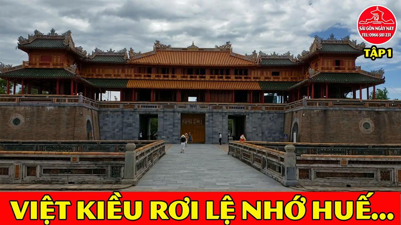 Việt Kiều rơi lệ Nhớ Huế vì năm nay khó về chơi #SGNN